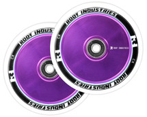 Root Industries AIR 110mm Wheels | Standards | White PU | Purple | Pair