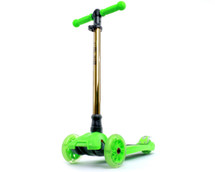 i-Glide Kids 3-Wheel Scooter | Green/Gold Neo