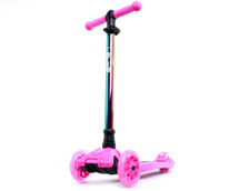 i-Glide Kids 3-Wheel Scooter | Pink/Neo-Chrome