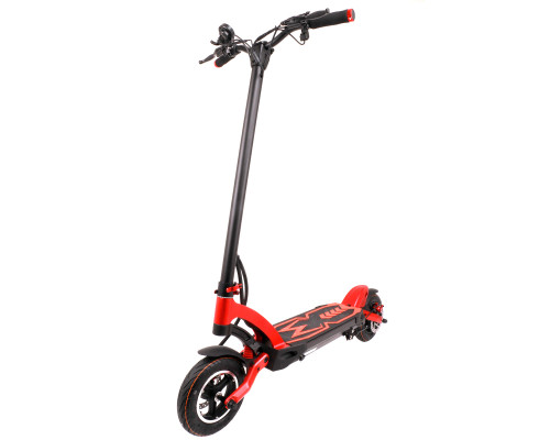 Kaabo Electric Scooter | Mantis | Single Direct Gear Motor | Red/Black