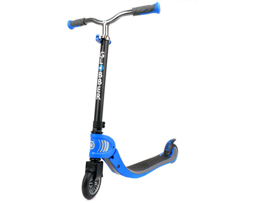 Globber Flow 125 Foldable Scooter | Navy Blue