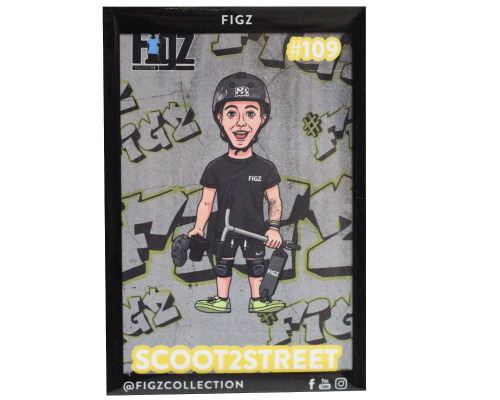 Figz Collection Sticker   #109   Scoot2Street
