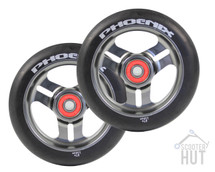 Phoenix Pro Scooters 3-Spoke Scooter Wheels - Gunmetal