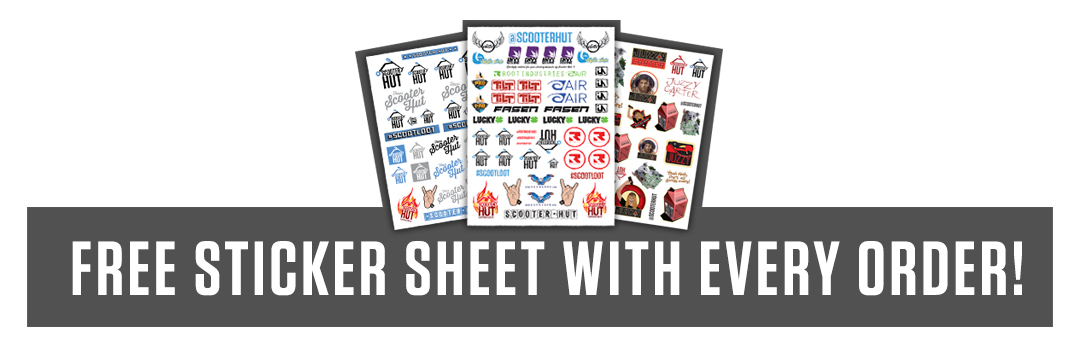 Free Sticker Sheet with EVERY ORDER
