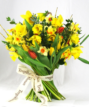 English seasonal flowers saturday delivery now available by spring flowers secret garden luxury bouquetg mightylinksfo