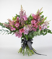 Pure Pink - Seasonal British Flowers Bouquet