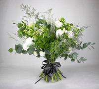 Vintage White - Seasonal British Flowers Bouquet
