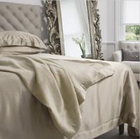 Silk Blanket Taupe - Jasmine Silk