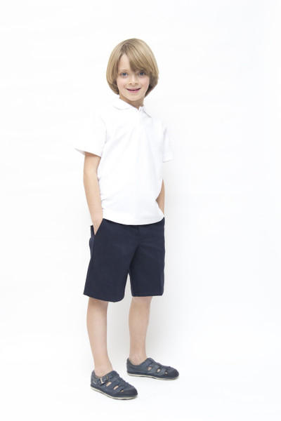 Organic School Uniform - Navy Boys Shorts