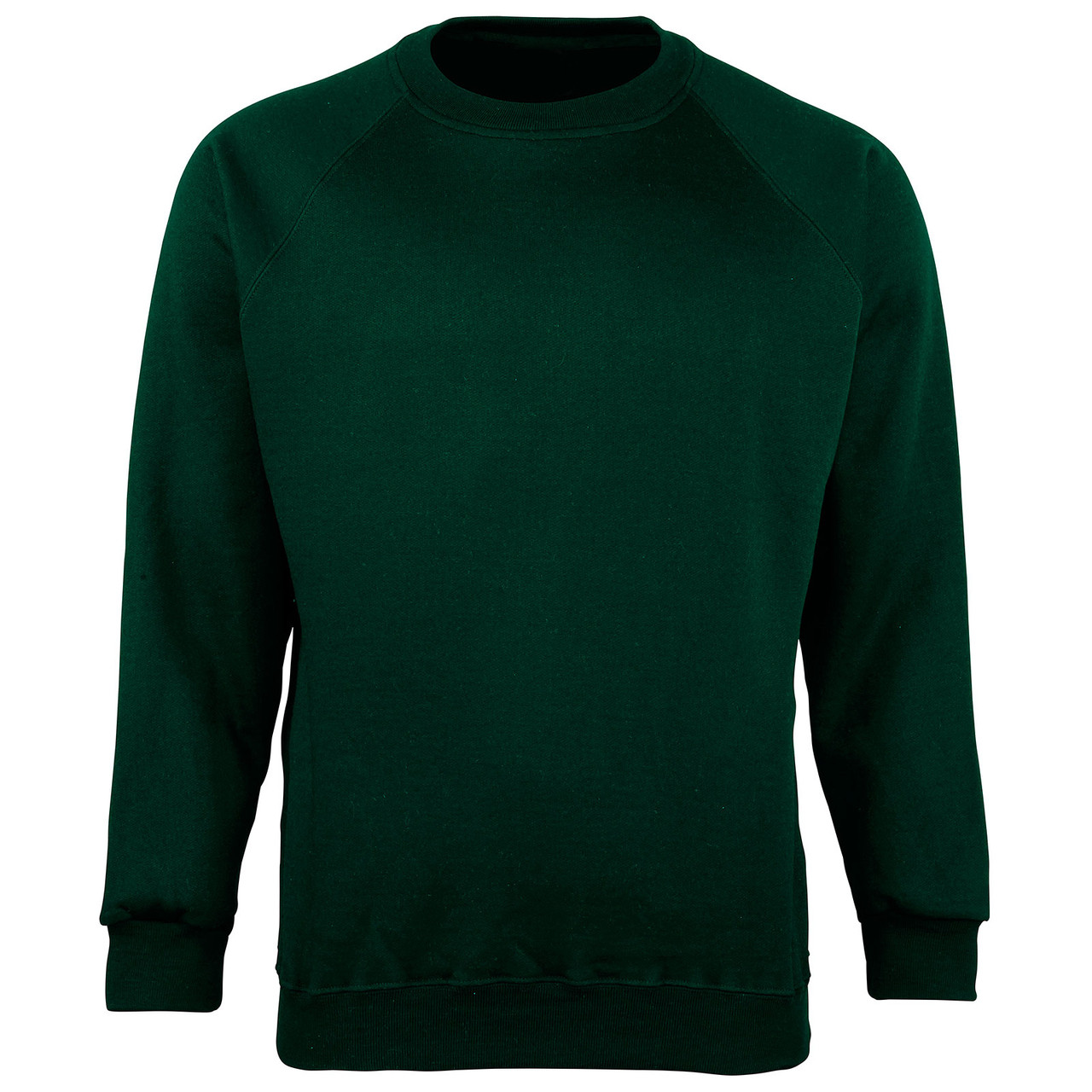 Organic Cotton School Sweatshirt - Bottle Green
