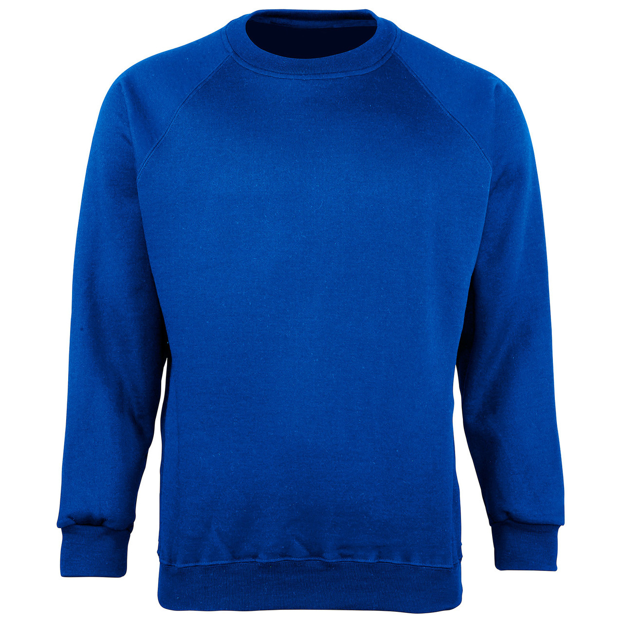 Organic Cotton School Sweatshirt - Royal Blue