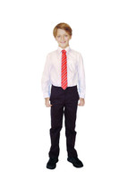 Organic School Uniform - Black Boys Classic Fit Trousers