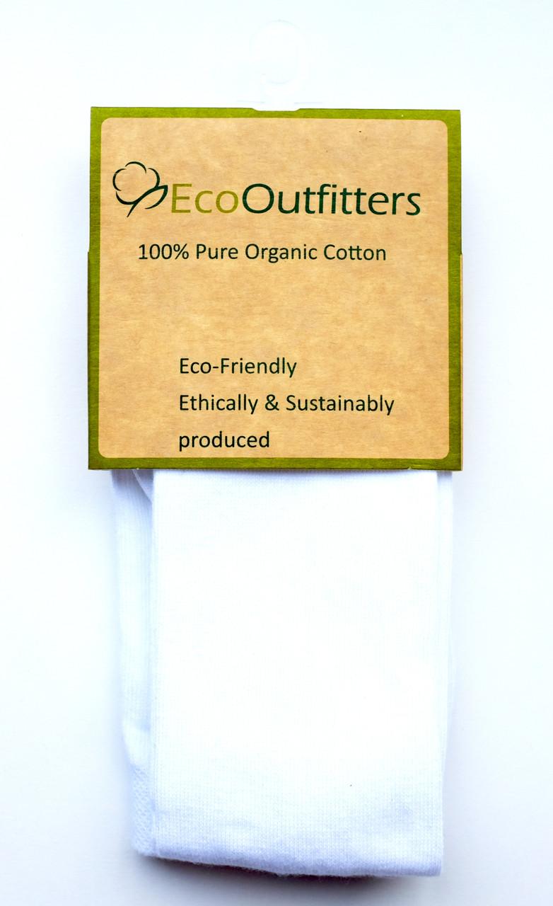 Organic Cotton Tights - White