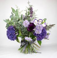Purple Haze - Seasonal British Flowers Bouquet