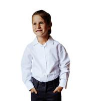 Organic School Uniform - Long Sleeve White Blouse