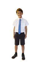 Organic School Uniform - Charcoal Boys Shorts
