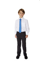 Organic School Uniform - Charcoal Boys Classic Fit Trousers