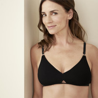 Gabriela Triangle Bra in Black - Living Crafts