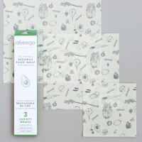 Beeswax Wraps Variety Pack by Abeego