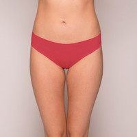 Red Seamless Knickers - AmaElla