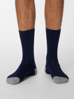 Jack Bamboo Socks in Navy - Thought