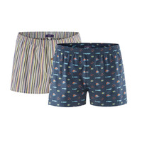 Keith Men Boxer Shorts Ocean Life (Twin Pack) - Living Crafts