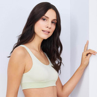 Kyria Bustier in Milky Green- Living Crafts