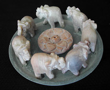 Fortune Elephants Incense Holder