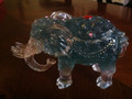 Blue Feng Shui Fertility Elephant
