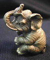 Brass Lucky Elephant