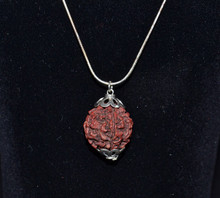 Rudraksha Seed Necklace