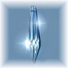 Clear Swarovski Crystal Spear
