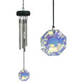 Precious Stones Wind Chime with Crystal