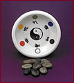 Designed by Dr. Edgar Sung, this porcelain Yu is used in the cure involving the adjustment of your Earth Element.