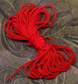 his is especially strong red string that is used to hang your crystals as well as for other Feng Shui purposes. Two (2) pieces of string, each 42 inches long.