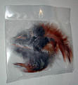 Three Rooster Feathers per bag. These are right small, about 2 inches, but they are correct feathers to use.