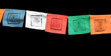 Little Prayer Flag Garlands (horizontal)