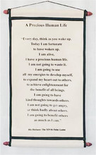 Scroll #4: A Precious Human Life, by H.H. The Dalai Lama