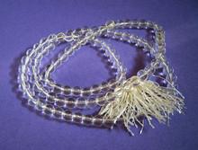 Quartz Crystal Mala Beads Necklace