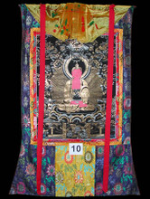 MEDICINE BUDDHA Supreme Glory Free from Sorrow, Thangka