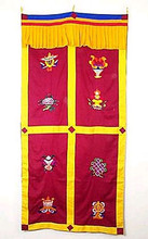 Tibetan Door Curtain #3