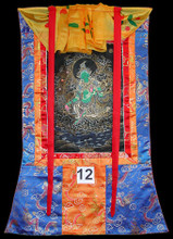 (Drolma) Green Tara Thangka, Gold