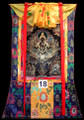 Four-handed Avaloketesvara Chathurbhuja Thangka Gold#18