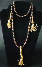 Bone Mala Beads Necklace with Counters