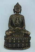Bronze Buddha, Tibetan Style