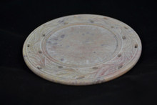 Stone Candle Plate