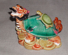 Ceramic Dragon Tortoise