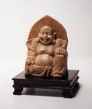 Laughing Buddha-Soapstone