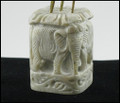 Elephant Pillar Incense Holder