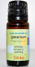 Geranium Essential Aromatherapy Oil - Pelargonium Graveolens